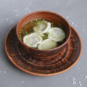 Хинкали-суп