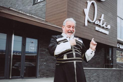 доставка еды с грузинского ресторана PATIO